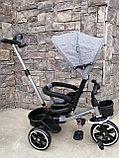 Трёхколёсный велосипед с поворотным сиденьем Т700, фото 8