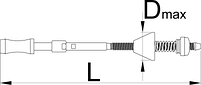 Приспособление для нарезки резьбы в кареточной трубе (BSA) - 1697 UNIOR, фото 2