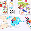 Детский набор для творчества — Трафареты (56 деталей), фото 3