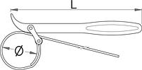 Съемник, хлыст с ремешком для амортизаторов - 1705/2DP UNIOR, фото 2
