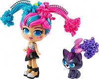 Curli Girls: Кукла Модница Милли с чёрным котёнком Вог