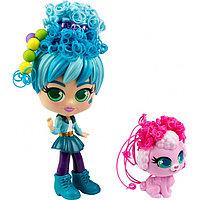 Curli Girls: Кукла Путешественница Адели с пуделем Фиджи