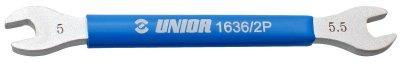 Ключ для спиц 5 и 5,5 мм - 1636/2P UNIOR