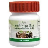 Лакшади Гуггул Lakshadi Guggul 40таб для укрепления костей Патанджали Аюрведа, Divya Patanjali