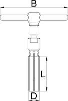 Инструмент для обслуживания втулок «джинн» - 1758/4 UNIOR, фото 2