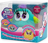 Интерактивная игрушка Tiny Furries Fluffy Birds: птичка Ruby