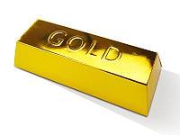 """Набор для Раскопок и бисероплетения """"Gold"""", большой золотой слиток"""