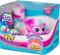 Интерактивная игрушка Tiny Furries Fluffy Kitties: котенок Lili