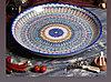 Табак круглый,46см Риштанская керамика