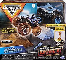 """Игровой набор машинка Монстр Трак """"Грязевые приключения"""" Monster Jam"""