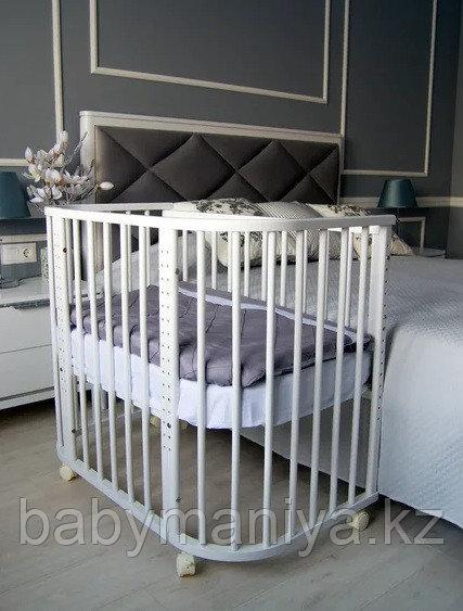 Кровать приставная Incanto Leeloo  Белый