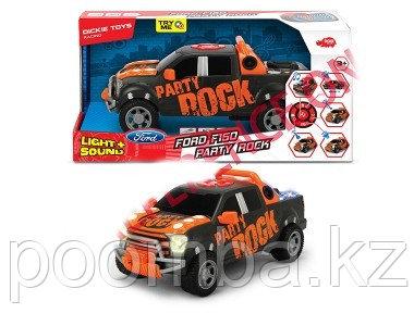 Машинка Форд F-150 - Party Rock  моторизированная  29 см свет звук  Dickie Toys