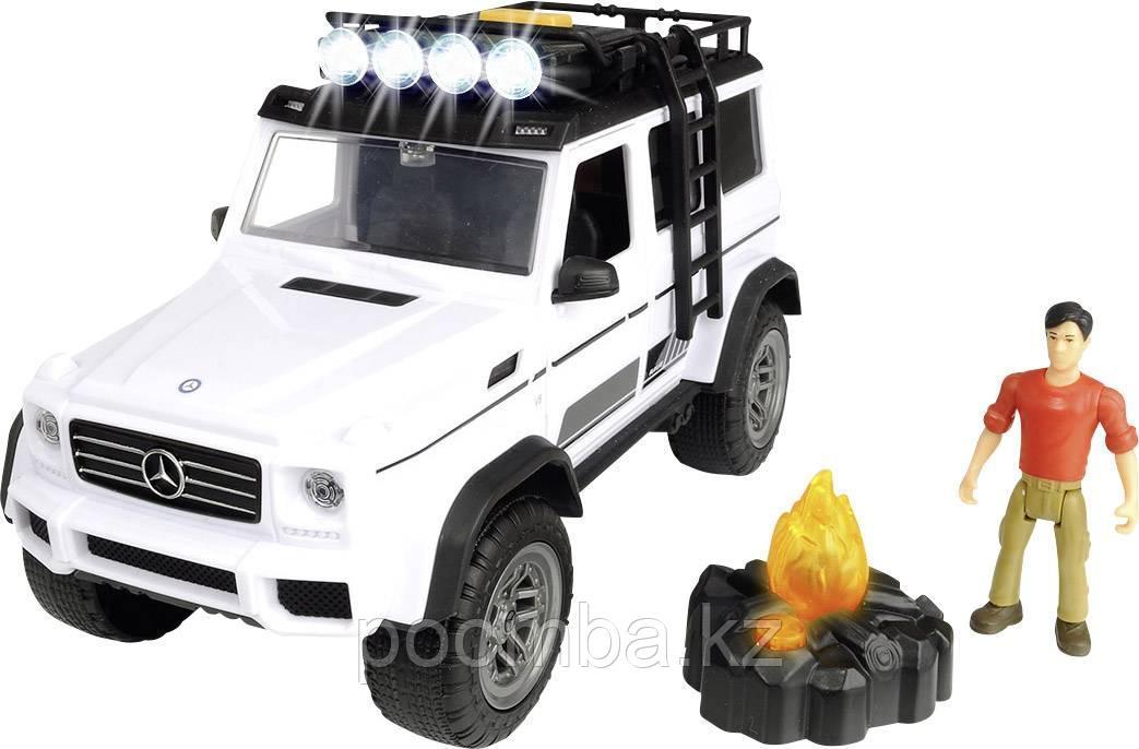 Набор Искатели приключений  MB AMG 500 4x4 PlayLife 23 см свет звук Dickie Toys