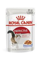 Royal Canin Instinctive в желе, влажный корм для кошек для поддержания здоровья мочевыделительной системы