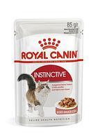 Royal Canin Instinctive в соусе, влажный корм для кошек для поддержания здоровья мочевыделительной системы