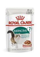 Royal Canin Instinctive + 7 в соусе, влажный корм для кошек старше 7 лет