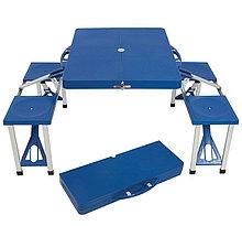 Стол-чемодан со скамейками ECOS TD-12 складной