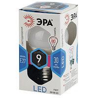 Лампочка ЭРА P45-9W-840-E27 (диод, шар, 9Вт, нейтр, E27)
