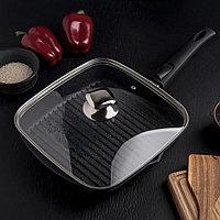 Сковорода -гриль с крышкой  «Мечта» 28см