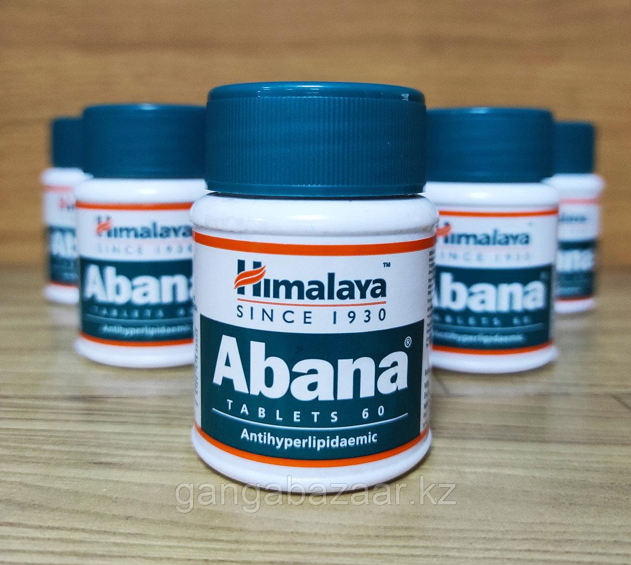 Абана Хималая (Abana Himalaya) - укрепление сердечной мышцы, снижение холестерина, 60 табл