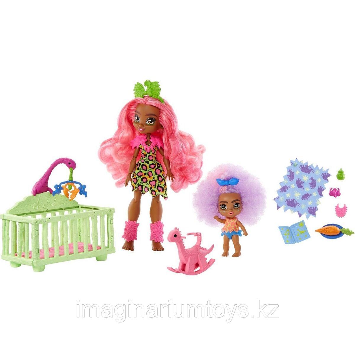 Cave Club Пешерный клуб игровой набор с куклами Фернесса и Ферра