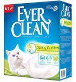 Ever Clean 10л, Spring Garden с ароматом Весеннего сада комкующийся наполнитель для кошачьего туалета