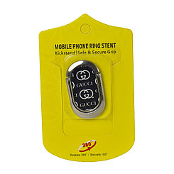 Кольцо держатель для телефона Ring 360* Gucci Black/Silver