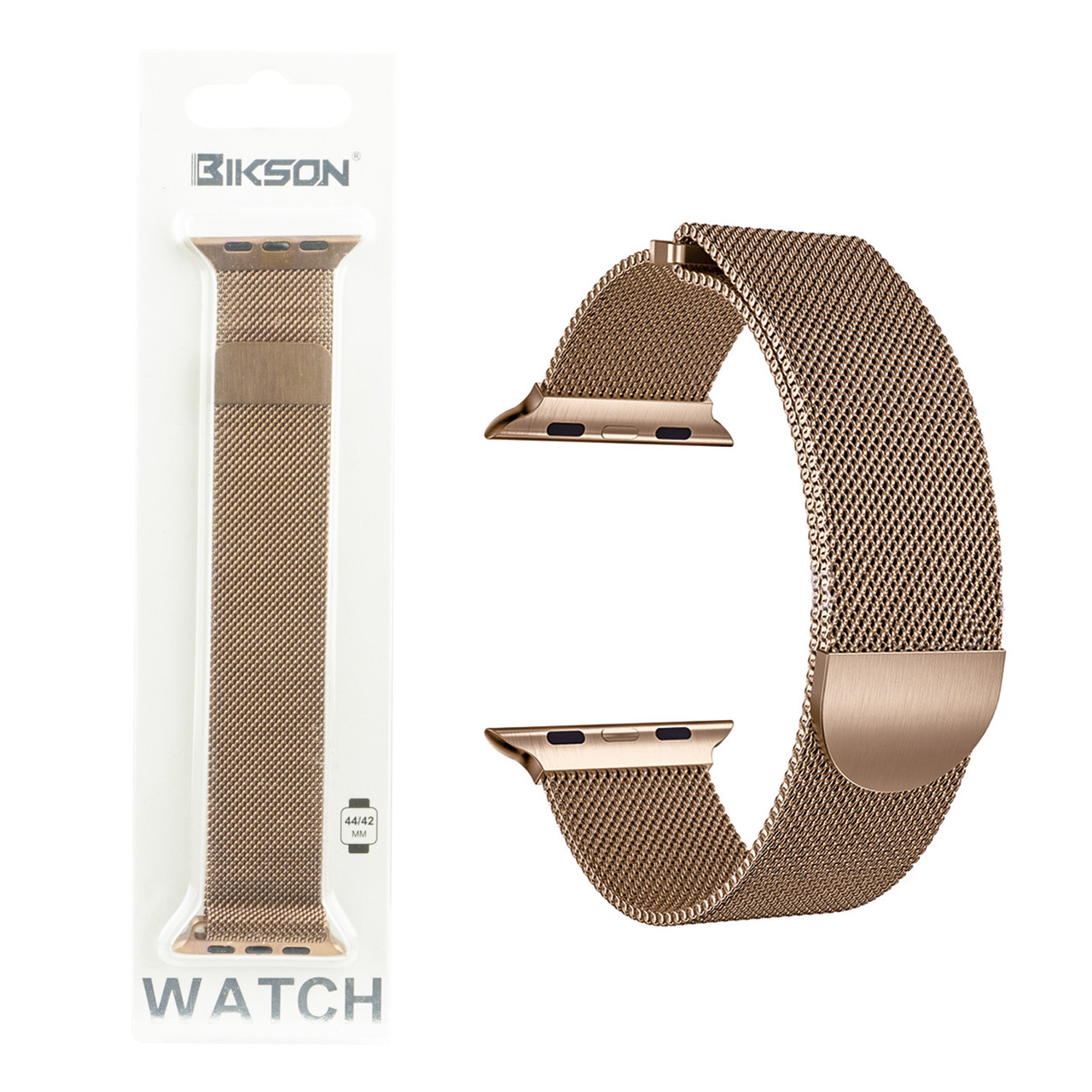Ремешок For Apple Watch 42mm/44mm Bikson Magnetic Milanese Loop, Brawon