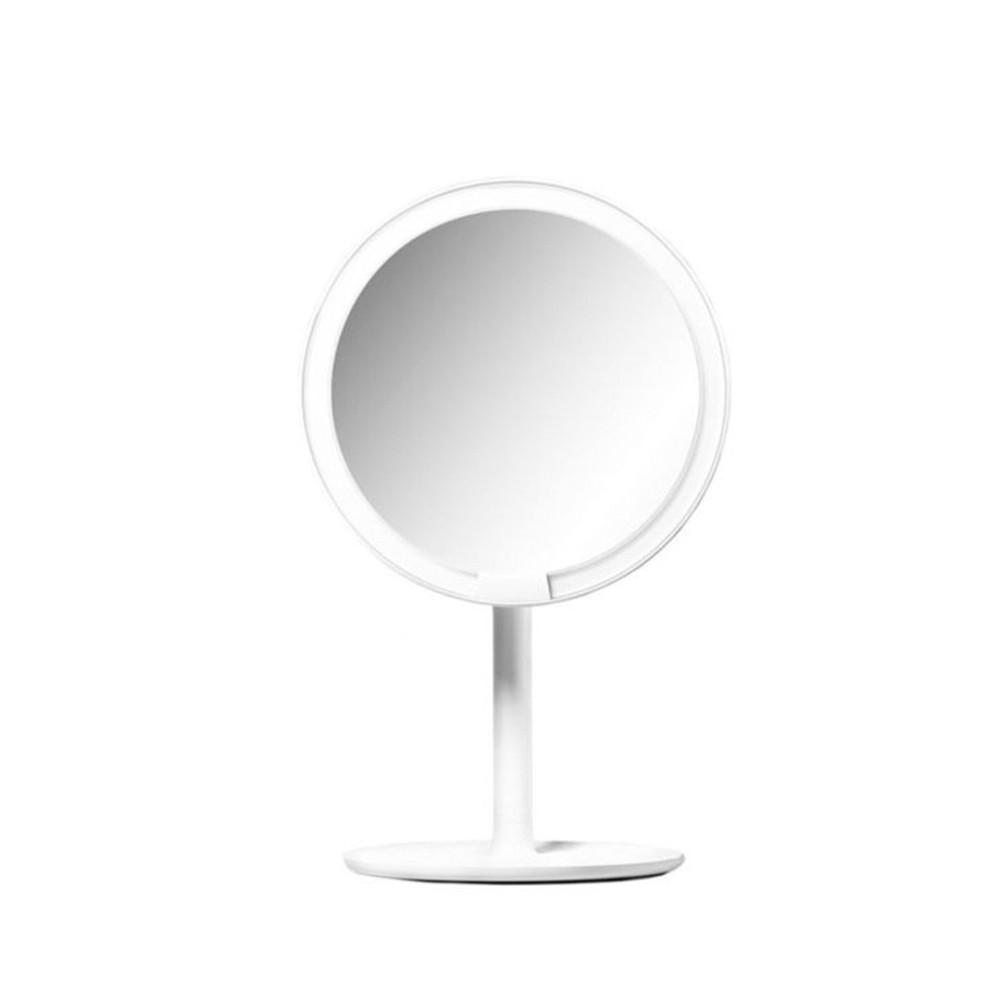Зеркало для макияжа с подсветкой Xiaomi AMIRO White HD Daylight Cosmetic Mirror, White