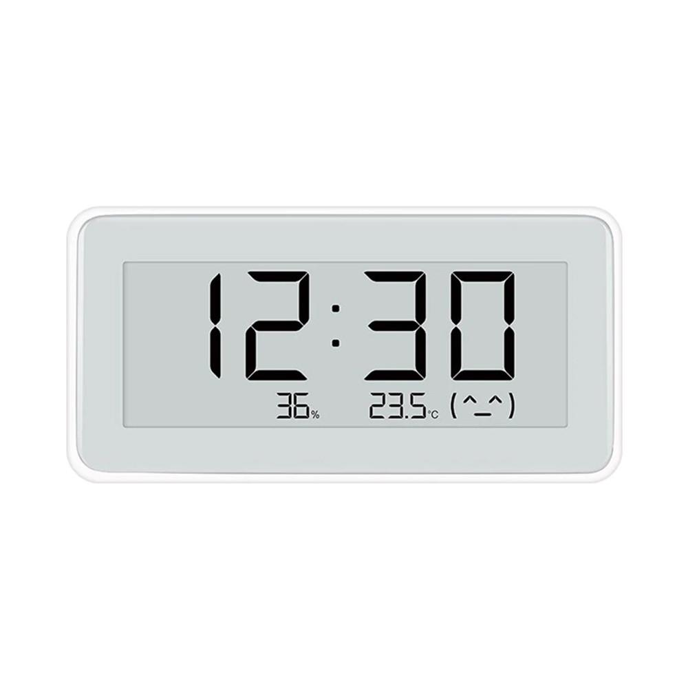 Часы с E-ink дисплеем Xiaomi Thermometer Hygrometer Watch Pro, White