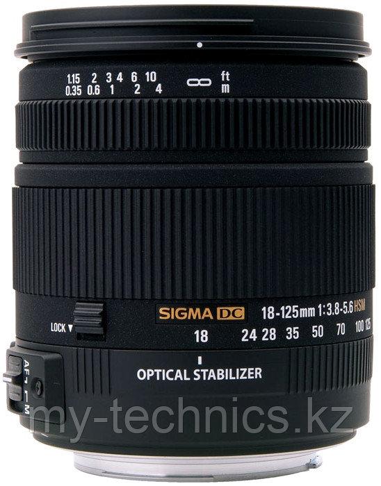 Объектив Sigma 18-125mm F3.8-5.6 DC OS HSM Nikon DX