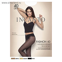 Колготки женские INCANTO Fashion 40 ден, цвет чёрный (nero), размер 4