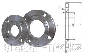Фланцы стальные приварные Ру25 Ду50 ГОСТ 12820-80