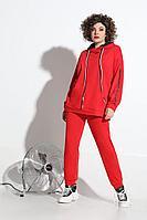 Женский осенний трикотажный красный спортивный спортивный костюм Avanti Erika 1088-1 42р.