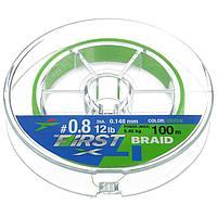 Леска плетёная Intech First Braid PE X4 0,148 мм, 100 м