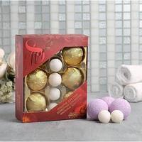 Набор '8 Марта' мыльные конфеты, бомбочки для ванны