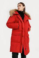 Пальто женское Finn Flare, цвет темно-красный, размер 2XL