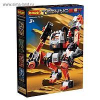 Набор с большим роботом и пилотом Technobot, цвет белый, оранжевый, чёрный