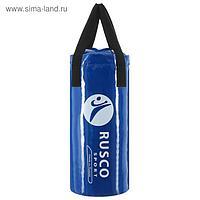 Мешок боксёрский BOXER, вес 8 кг, 55 см, d=25, цвет синий
