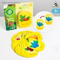 Карточки на кольце для изучения английского языка «Фрукты и ягоды», 3+