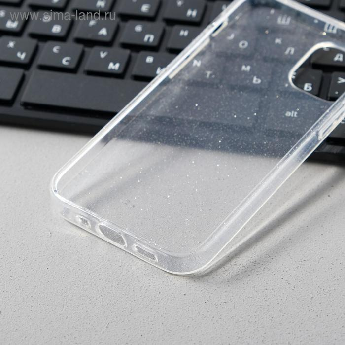 Чехол Activ SC123, для Apple iPhone 12 mini, силиконовый, белый - фото 3