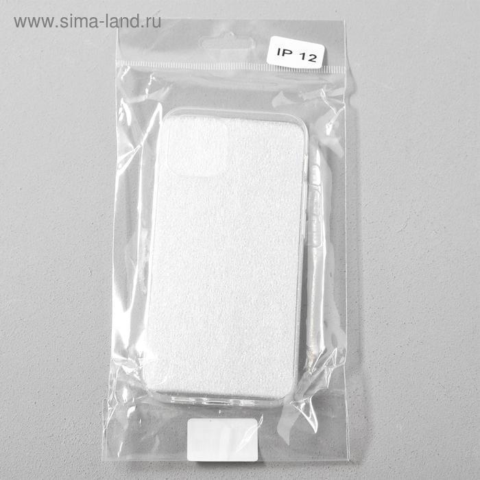 Чехол Activ SC123, для Apple iPhone 12 mini, силиконовый, белый - фото 4
