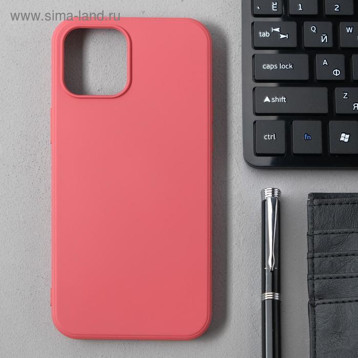 Чехол Activ Full Original Design, для Apple iPhone 12 Pro Max, силиконовый, бордовый - фото 1