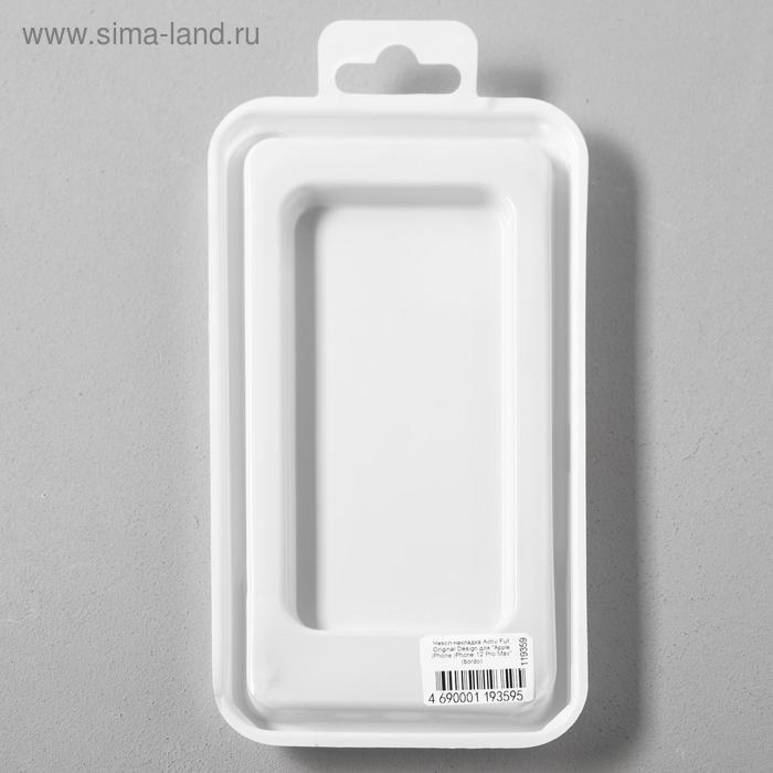 Чехол Activ Full Original Design, для Apple iPhone 12 Pro Max, силиконовый, бордовый - фото 5