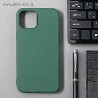 Чехол Activ Full Original Design, для Apple iPhone 12 Pro Max, силиконовый, тёмно-зелёный