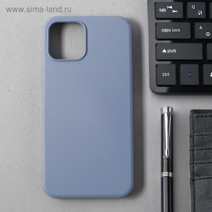 Чехол Activ Full Original Design, для Apple iPhone 12 Pro Max, силиконовый, серый - фото 1