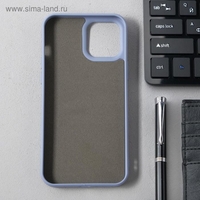 Чехол Activ Full Original Design, для Apple iPhone 12 Pro Max, силиконовый, серый - фото 2