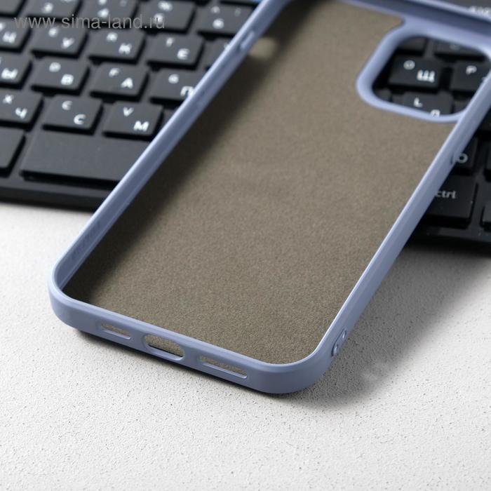 Чехол Activ Full Original Design, для Apple iPhone 12 Pro Max, силиконовый, серый - фото 3