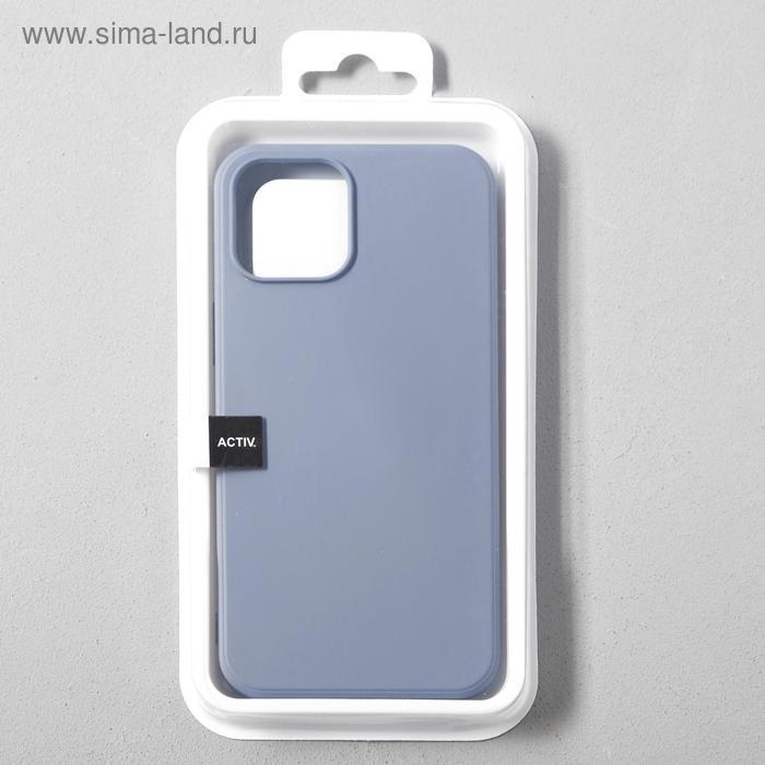 Чехол Activ Full Original Design, для Apple iPhone 12 Pro Max, силиконовый, серый - фото 4