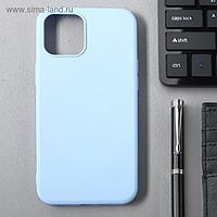 Чехол Activ Full Original Design, для Apple iPhone 12 Pro Max, силиконовый, голубой